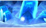 冷気漂う洞窟の奥の画像