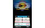 3D立体視とジャイロセンサー操作に対応。ゲーム中のBGMを再生できる「サウンド設定」など、オプション設定の充実ぶりも相変わらずの画像