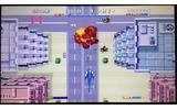 1987年にアーケードで発売されたセガの体感シューティングゲーム『サンダーブレード』の3DS向け移植作の画像