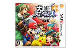 『大乱闘スマッシュブラザーズ for Nintendo 3DS』パッケージの画像