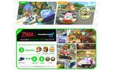 『マリオカート8』DLCで「リンク」「しずえ」などが参戦!「ブルーファルコン」やコースの追加もの画像