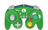 HORI Battle Pad Turbo for Wii U (Luigi Version) - Nintendo Wii Uの画像