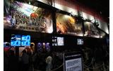 スクウェア・エニックスブース、『FFエクスプローラーズ』試遊スペースの画像