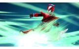 読み込んだフィギュアのライダーがゲーム内にの画像