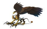 翼獣の画像