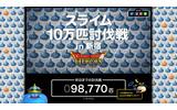 新宿に現れた「10万匹のスライム」、約1日で壊滅状態に…気になる張替えスケジュールをお届けの画像