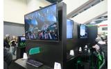 ブースではパートナー企業による複数のゲームで体験できたの画像