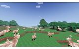 VR対応のMMOサンドボックス『Voxelnauts』登場…惑星舞台の『マイクラ』風RPGの画像