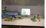 レゴロボットと学習アプリの画像