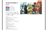 『大乱闘スマッシュブラザーズ for Nintendo 3DS / Wii U』公式サイトよりの画像