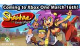 2Dアクション『Shantae and the Pirate's Curse』が海外でXbox One向けに移植決定の画像