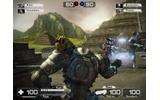 プレイヤーが頭を動かすとゲームの視野が変化−Wii用ロボットアクション『Battle Rage』の画像