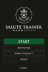 海上自衛隊が贈るiPhoneゲーム『SALUTE TRAINER 敬礼訓練プログラム』の画像