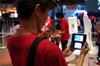 【TGS 2011】ジャイロセンサーでカノジョと遊ぼう『NEWラブプラス』プレイレポの画像