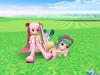 『スカッとゴルフ パンヤ』×「初音ミク」コラボ第2弾スタート、「GUMI」「桜ミク」が登場の画像