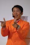 【TGS2008】ダンディー坂野さんがDS『ガーデニングママ』を紹介