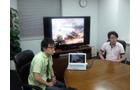 鍋島俊文氏(左)、伊藤淳氏(右)とディスカッション