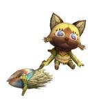 『モンスターハンター3(トライ)』モガの村に登場する「チャチャ」がかぶるお面の種類を一挙大公開!