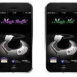 iPhone/iPod touchでマジックが出来るアプリ『Magic Shuffle』『Magic Hat』12月18日配信開始