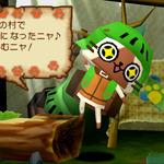 『モンハン日記 ぽかぽかアイルー村』が『モンスターハンターポータブル2ndG』と連動!