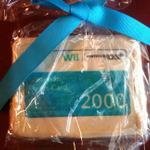 任天堂からのホリデーギフトはWiiポイントカード・・・ただしクッキー製