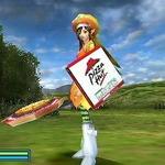 『ファンタシースターポータブル2』ピザハットコラボ第二弾!ピザを買って武器をゲット!