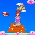 お色気座布団アクションゲーム第2弾『もっとあぶない!座布団タワー』がiモードに登場