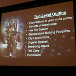【GDC2010】巨大なオープンワールドゲームを少数精鋭チームで作る方法・・・『inFAMOUS』開発元