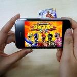 カードダス+iPhone+ARで遊べる「スーパー戦隊バトルダイスオー」・・・バンダイ