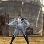 『北斗無双』レイが原作で着ていた衣装を忠実に再現、DLCとして配信