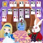 アリスの世界観があふれるパズルゲーム『アリス イン ソリティア』G-modeから配信開始