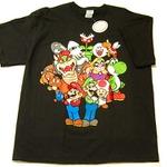 ドハデで賑やか!海外マリオTシャツ・・・週刊マリオグッズコレクション第83回
