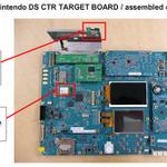 3DSの基板写真がリーク、噂通りシャープの3D液晶ディスプレイを採用?