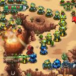 ビーバーとロボットがタワーディフェンスするWiiウェア『Robocalypse: Beaver Defense』