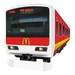 『電車でGO!特別編 ~復活!昭和の山手線~』とマクドナルドのコラボが実現 ― マック仕様の特別車両が登場