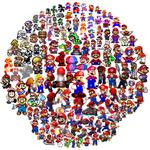 マリオの29年を振り返る大集合画像 ― 141人のマリオ、どこまで分かる?