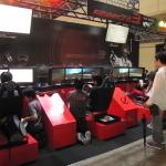 【TGS 2010】学生40人でレーシングゲームを制作…日本電子専門学校