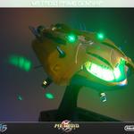 光る『メトロイド』の宇宙船が限定発売