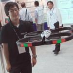 【CEATEC 2010】話題のリモコンヘリ「AR.Drone」の心臓部は日本の技術
