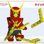 『ロックマン』のボスキャラたちがレゴに? ― 海外のCGアート