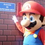 「スーパーマリオブラザーズ通り」がスペインに登場・・・ゼルダやインベーダーも