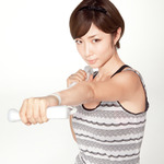 『シェイプボクシング2 Wiiでエンジョイダイエット!』イメージキャラクターはMEGUMIさん