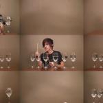 ワイングラス&紙で熱演する『ゼルダ』ミュージック