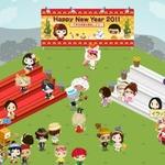 仮想空間「アメーバピグ」の正月利用者、熱田神宮の初詣の参拝客数を超える