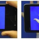 手のひらに初音ミクを3D表示……KDDI、3Dオブジェクトを表示する「手のひらAR」をデモ展示