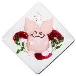 「LUIDA'S BAR(ルイーダの酒場)」バレンタイン特別メニューに「ピンクモーモンティラミス」を用意