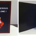 「一人で行くのは危険じゃ!」などバレンタインデーを祝うゲーム的なカード