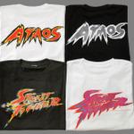 『スーパーストリートファイターIV』とatmosのコラボTシャツ発売