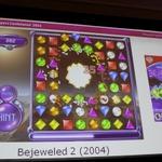 【GDC2011】毎日1億回以上遊ばれる不朽の名作パズル『Bejeweled』の10年を振り返るポストモーテム