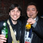 【GDC2011】大盛況のUnityパーティでは自作ゲームを見せ合う光景も(パーティ報告Vol.1)